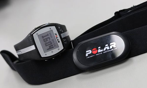 polar heart rate monitor and chest strap telemetry