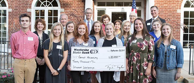 Waukesha State Bank 2018 scholarship winners