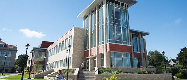 Hastad Hall at Carroll University