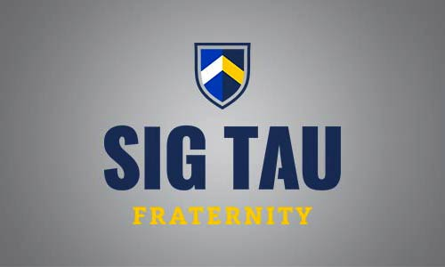 Logo of Sigma Tau fraternity