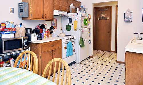 carroll street apartment kitchen