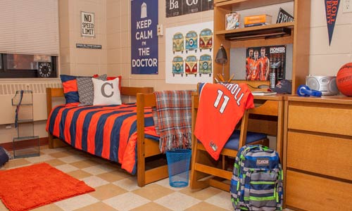 Photo of Kilgour Hall dorm room