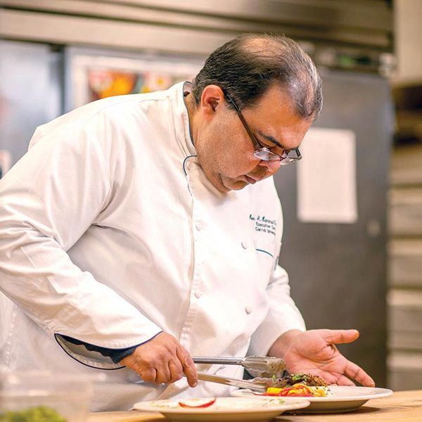 Photo of Chef Moe Hammed
