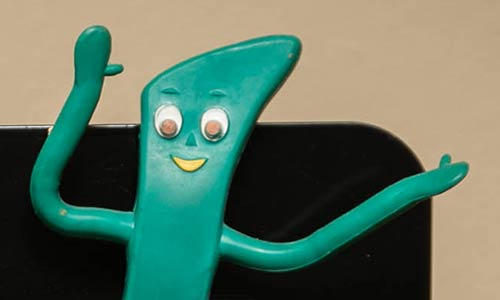 Gumby action figure