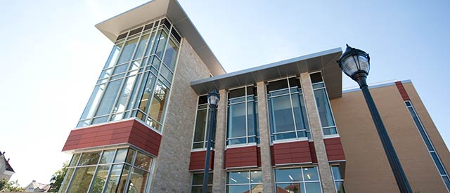 Hastad Hall exterior