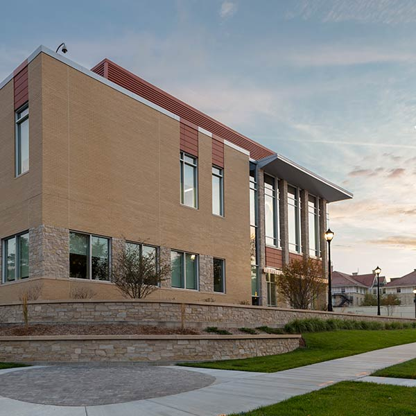 Carroll University Jaharis Science Labs Exterior