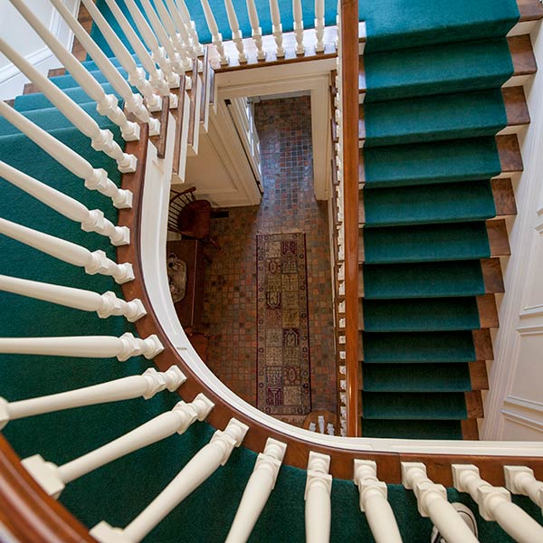 sneeden hall stairs